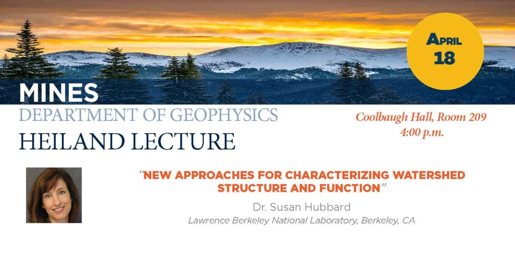 Heiland Lecture Susan Hubbard